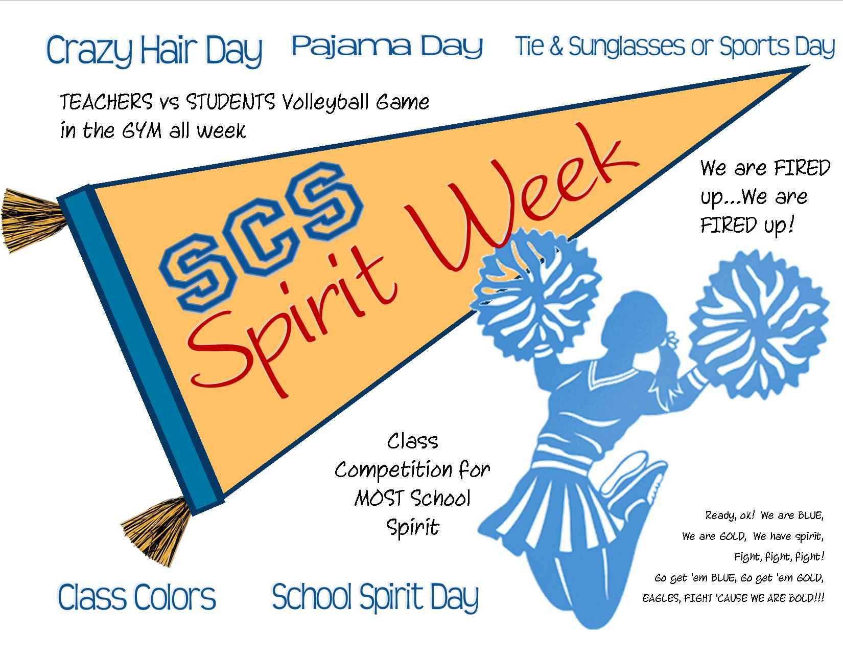 spirit week Und spirit week is geared towards teaching und students how donor support impacts their college experience and gives us a chance to say thank you.